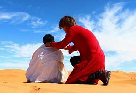 Morroco Sahara desert