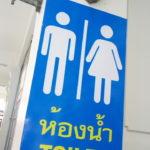 タイのトイレの使い方?!「こ、これで流せって?!?」