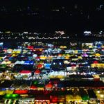 タイ・バンコクの夜景を撮影しにタラートロットファイ・ラチャダーへ!!二人旅で一人になる寂しさと共に…